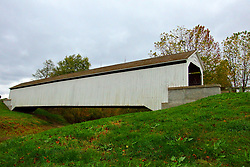 24 October 2017: State Sanatorium Birdge.<br /> <br />   Parke County Indiana is the site of the Indiana Covered Bridge Festival every October