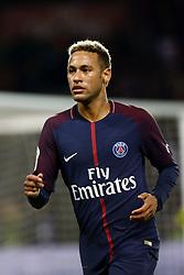 September 17, 2017 - Paris, France - Neymar Jr during the French Ligue 1 match between Paris Saint Germain (PSG) and Olympique Lyonnais (OL) at Parc des Princes on September 17, 2017 in Paris. (Credit Image: © Mehdi Taamallah/NurPhoto via ZUMA Press)
