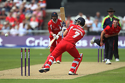Liam Livingstone of Lancashire Lightning in action - Mandatory by-line: Jack Phillips/JMP - 23/07/2017 - CRICKET - Emirates Old Trafford - Manchester, United Kingdom - Lancashire Lightning v Durham Jets - Natwest T20 Blast