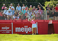 26JUL15 Kris Tamulis on 1 during Sunday's Final Round of The Meijer LPGA Classic at The Blythefield Country Club in Belmont, Michigan. (photo credit : kenneth e. dennis/kendennisphoto.com)