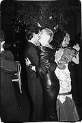 Baroness Francesca Thyssen. Party to launch Faberge exhibition at Baron Thyssen's Villa Favorita, Lugano. 20 April 1987. © Copyright Photograph by Dafydd Jones 66 Stockwell Park Rd. London SW9 0DA Tel 020 7733 0108 www.dafjones.com