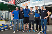 13/09/2015   official opening of the body works  a gym in Galway city.<br /> Photo:Andrew Downes, xposure<br /> <br /> The Body Works Galway is Galway's newest fitness studio. We are located adjacent to Parkmore in Briarhill Business park about a seven minute walk from the Parkmore Industrial Estate and Briarhill Shopping Centre.<br /> <br /> The fitness studio consists of a spinning studio at ground floor and a fitness studio at first floor where we provide classes in Kettlebells, Pilates, Yoga,TRX, Body Pump and Circuits . We have 16 spinning bikes (cardio machines) in our spinning studio.