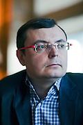 Moscow, Russia, 26/03/2012..Oleg Savtsov, Development Director of internet marketing company Big Lion.