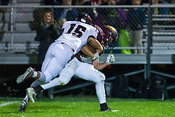 18 October 2019: Heyworth Hornets at LeRoy Panthers boys HOIC (Heart of Illinois Conference) football, Le Roy Illinois<br /> <br /> Leroy #2