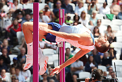 Great Britain's Robbie Grabarz competes in the Men's High Jump Qualifying during day eight of the 2017 IAAF World Championships at the London Stadium.