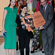 NLD/Amsterdam/20120127 - AFW winter 2012 - Pr. Maxima bij Green Fashion uitreiking, Lonneke Engel en Maxime Verhagen