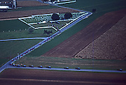 Aerial, Amish funeral, graveyard, procession, Lancaster County
