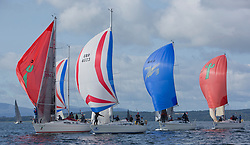 Largs Regatta Festival 2018<br /> <br /> Day 1 - CYCA Class 3 with Cool Bandit, Vendeval, Ubiquity and Shearwater<br /> <br /> Images: Marc Turner