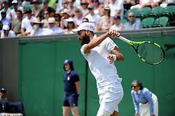 July 7, 2018 - Angleterre - Wimbledon - Benoit Paire France (Credit Image: © Panoramic via ZUMA Press)