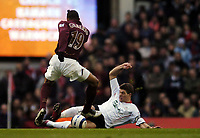 Photo: Olly Greenwood.<br />Arsenal v Liverpool. The Barclays Premiership. 12/03/2006. Liverpool's Steven Gerrard tackles Arsenal's Gilberto
