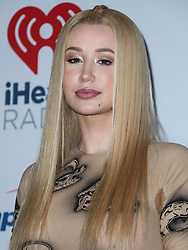 LAS VEGAS, NV, USA - SEPTEMBER 21: Rapper Iggy Azalea poses in the press room at the 2018 iHeartRadio Music Festival - Night 1 held at T-Mobile Arena on September 21, 2018 in Las Vegas, Nevada, United States. 21 Sep 2018 Pictured: Iggy Azalea. Photo credit: Image Press Agency/MEGA TheMegaAgency.com +1 888 505 6342
