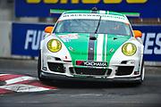 September 2-4, 2011. American Le Mans Series, Baltimore Grand Prix. 54 Black Swan Racing, Tim Pappas, Jeroen Bleekemolen, Porsche 997 GT3 Cup