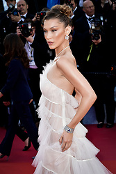 """""""Rocketman"""" Red Carpet - The 72nd Annual Cannes Film Festival. 16 May 2019 Pictured: Bella Hadid. Photo credit: Daniele Cifalà / MEGA TheMegaAgency.com +1 888 505 6342"""