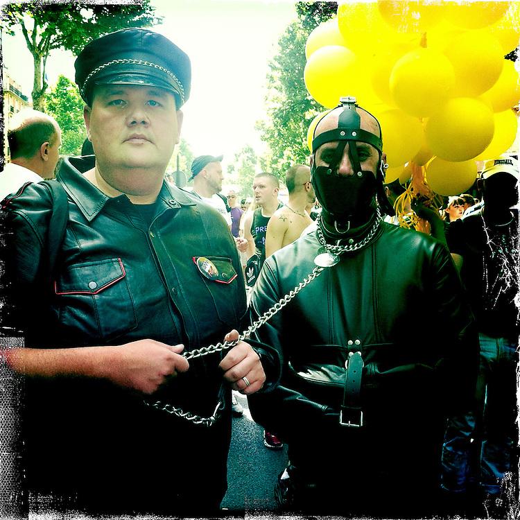 Paris, France. At the Gay Pride. June 30th 2012.