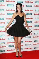 Verity Rushworth, Inside Soap Awards 2015, DSTRKT, London UK, 05 October 2015, Photo by Richard Goldschmidt