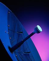Still Life of Bendix avionics radar antenna.