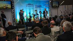 Lançamento da 39ª Expointer - Exposição Internacional de Animais, Máquinas, Implementos e Produtos Agropecuários, que acontece de 27 de agosto a 4 de setembro, no Parque de Exposições Assis Brasil, em Esteio. Foto: Gustavo Roth/ Agência Preview