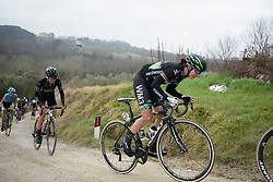 Marianne Vos (WM3) at Strade Bianche - Elite Women. A 127 km road race on March 4th 2017, starting and finishing in Siena, Italy. (Photo by Sean Robinson/Velofocus)