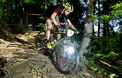 during Cross Country XC Mountain bike race for Slovenian National Championship in Kamnik, on July 12, 2015 in Kamnik,  Slovenia. Photo by Vid Ponikvar / Sportida