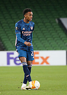 Joe Willock of Arsenal with during the Europa League Group B match between Dundalk and Arsenal at Aviva Stadium, Dublin, Republic of Ireland on 10 December 2020.