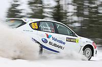MOTORSPORT - WORLD RALLY CHAMPIONSHIP 2012 - RALLY SWEDEN / RALLYE DE SUEDE - 08 TO 12/02/2012 - KARLSTAD (SWE) - PHOTO : FRANCOIS BAUDIN /  DPPI - ANDERS GRONDAL SUBARU ACTION