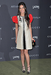 Demi Moore attends the 2016 LACMA Art + Film Gala honoring Robert Irwin and Kathryn Bigelow presented by Gucci at LACMA on October 29, 2016 in Los Angeles, California. Photo by Lionel Hahn/AbacaUsa.com