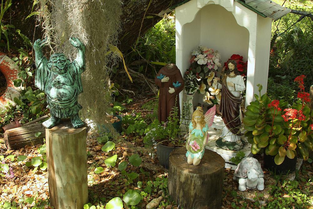Altar at Landry House, Grand Isle