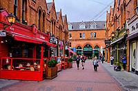 République d'Irlande, Dublin, la rue pietonne de Castle Market // Republic of Ireland, Dublin, the pedestrian street of Castle Market