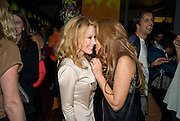 KYLIE MINOGUE; TRICIA JONES, 30 Years Of i-D - book launch. Q Book 5-8 Lower John Street, London . 4 November 2010. -DO NOT ARCHIVE-© Copyright Photograph by Dafydd Jones. 248 Clapham Rd. London SW9 0PZ. Tel 0207 820 0771. www.dafjones.com.