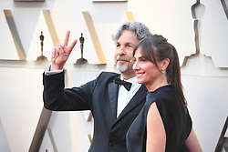 February 24, 2019 - Los Angeles, California, U.S - PETER FARRELLY AND WIFE MELINDA FARRELLY during red carpet arrivals for the 91st Academy Awards, presented by the Academy of Motion Picture Arts and Sciences (AMPAS), at the Dolby Theatre in Hollywood. (Credit Image: © Kevin Sullivan via ZUMA Wire)