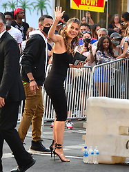 Maria Menounos is seen in Los Angeles, CA.