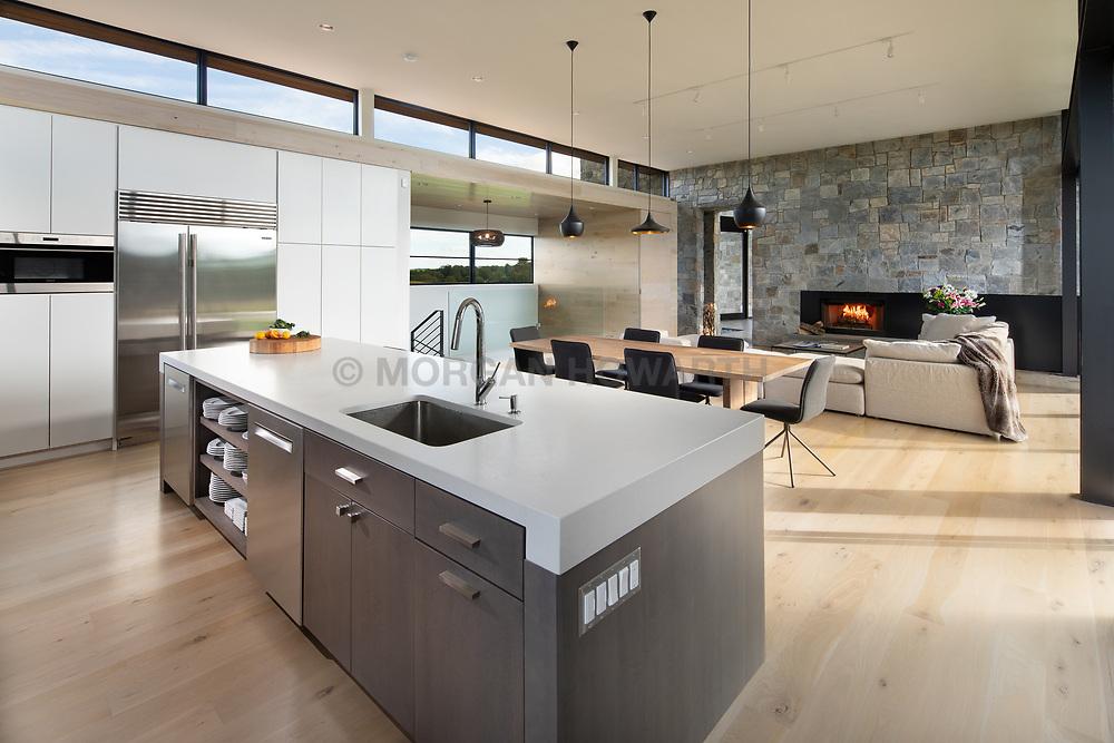 98 Lyle Modern Home kitchen dining room VA 2-174-303