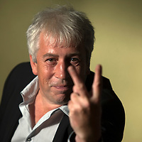 Rod Liddle at Edinburgh International Book Festival 2014. <br /> 11th August 2014<br /> <br /> Picture by Russell G Sneddon/Writer Pictures