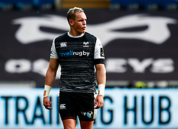 Hanno Dirksen of Ospreys<br /> <br /> Photographer Simon King/Replay Images<br /> <br /> Guinness PRO14 Round 18 - Ospreys v Dragons - Saturday 23rd March 2019 - Liberty Stadium - Swansea<br /> <br /> World Copyright © Replay Images . All rights reserved. info@replayimages.co.uk - http://replayimages.co.uk