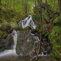 New England waterfall fine art photography of the beautiful  Buttermilk Falls in Plymouth, CT. The hemlock grove and lush ferns beautifully frame this waterfall forest setting.<br /> <br /> Visit Connecticut waterfalls photography artworks are available as museum quality photography prints, canvas prints, acrylic prints, wood prints or metal prints. Fine art prints may be framed and matted to the individual liking and interior design decorating needs.<br /> <br /> Good light and happy photo making!<br /> <br /> My best,<br /> <br /> Juergen