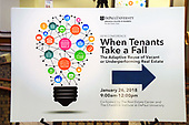 Real Estate Center Conference - When Tenants Take a Fall