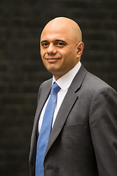 Downing Sreet, London, July14th 2015. Business Secretary Sajid Javid arrives at 10 Downing street for the government's weekly cabinet meeting.