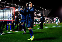 Tom Nichols of Bristol Rovers after the final whistle of the match - Mandatory by-line: Ryan Hiscott/JMP - 17/12/2019 - FOOTBALL - Home Park - Plymouth, England - Plymouth Argyle v Bristol Rovers - Emirates FA Cup second round replay
