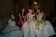 PRINCESS ANNE-HELENE D'ARENBERG; VICTORIA DE SILVA;  ANNA HESKETH; VIOLET HESKETH. The 2008 Crillon Debutante Ball. Getting Ready the Day before. Crillon Hotel. Paris. 29 November 2008. *** Local Caption *** -DO NOT ARCHIVE-© Copyright Photograph by Dafydd Jones. 248 Clapham Rd. London SW9 0PZ. Tel 0207 820 0771. www.dafjones.com.