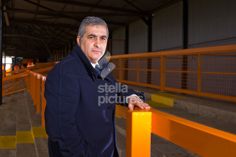 Picture by Daniel Hambury. .29/10/11.Barnet Football Club chairman, Tony Kleanthous pictured at Underhill Stadium.