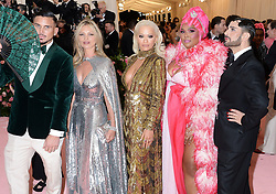 The 2019 Met Gala Celebrating Camp: Notes on Fashion - Arrivals. 06 May 2019 Pictured: Kate Moss, Rita Ora. Photo credit: MEGA TheMegaAgency.com +1 888 505 6342