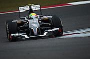 April 17, 2014 - Shanghai, China. UBS Chinese Formula One Grand Prix. Esteban Gutierrez (MEX), Sauber-Ferrari<br /> <br /> © Jamey Price / James Moy Photography
