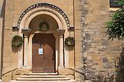 the village church chateauneuf du pape rhone france