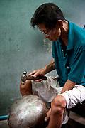 Monk Bowl Maker, Bangkok, Thailand