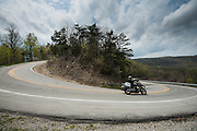 Chasing Dragons story for Roadrunner Magazine riding motorcycles in Oklahoma, Missouri and Arkansas