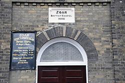 Zoar baptist chapel, Norwich UK