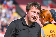 Daniel Stendel of Barnsley (Manager) during the EFL Sky Bet League 1 match between Barnsley and Shrewsbury Town at Oakwell, Barnsley, England on 19 April 2019.