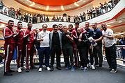 BOXEN: IBO-Weltmeisterschaft, Pressetraining, Hamburg, 03.07.2019<br /> Team EC Boxing<br /> © Torsten Helmke