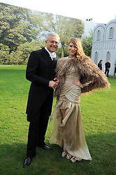 ALEXANDER LEBEDEV and Elena Perminova at the Raisa Gorbachev Foundation Party held at Stud House, Hampton Court Palace on 5th June 2010.  The night is in aid of the Raisa Gorbachev Foundation, an international fund fighting child cancer.
