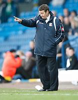 Photo: Steve Bond/Richard Lane Photography. Leeds United v Swindon Town. Coca Cola League One. 14/03/2009. Danny Wilson on the touchline